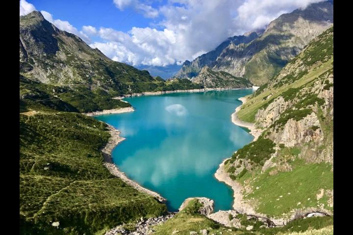 Lago del Barbellino a Valbondione