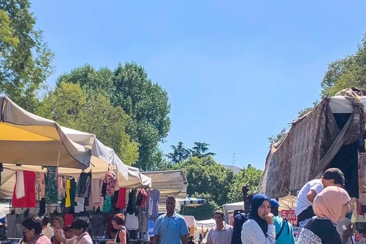 Mercato a Bergamo