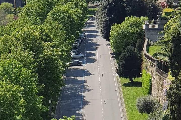 Viale delle mura