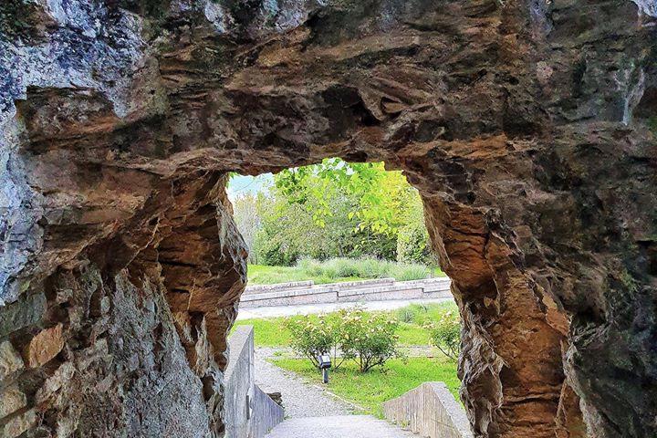 giardino del castello di San Vigilio