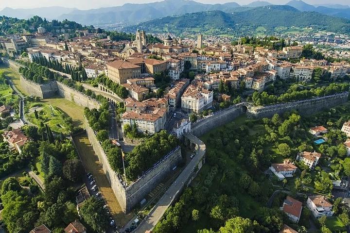 Vista di Bergamo Alta