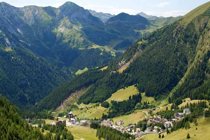 Scorcio della Val Brembana