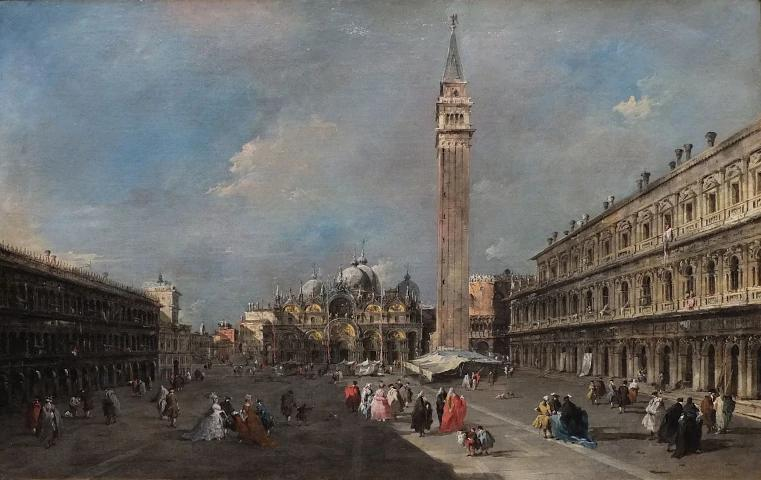Francesco Guardi, Veduta di Piazza San Marco