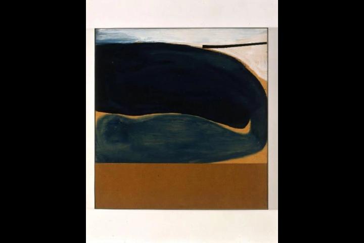 Blue development n. 6 di Victor Pasmore
