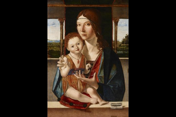 Madonna con il Bambino di Jacobello da Messina