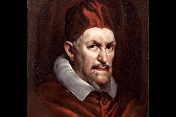 Ritratto di papa Innocenzo X (copia da Diego Velasquez)