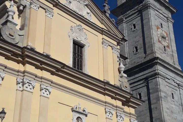 la chiesa di Vilminore di Scalve